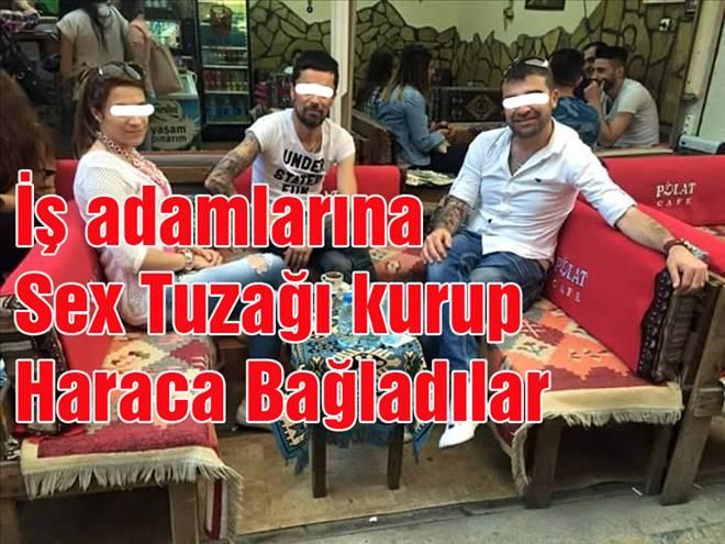 İŞ ADAMLARINA BÜYÜK SEX TUZAĞI