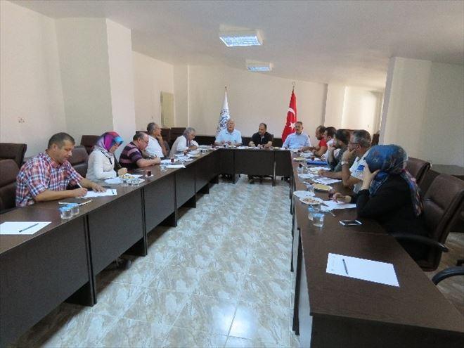 Beyşehir'de Eşrefoğlu Camisi Alan Yönetimi Toplantısı Yapıldı