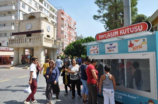 "Tarsus'ta 'Paylaşım Kutusu"" Projesi"