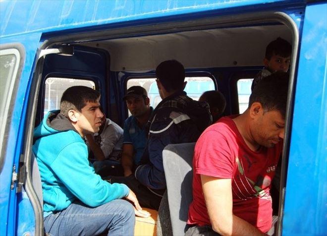 Tekirdağ'da 51 Suriyeli Sığınmacı Yakalandı