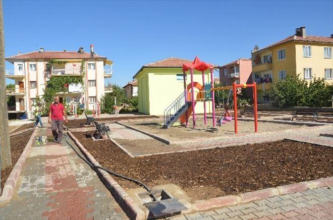 Ereğli Belediyesinden Yeni Parklar