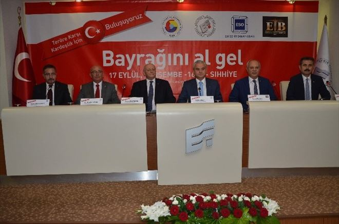 Eskişehir'deki Odalar Da Ankara'da Teröre Karşı Yürüyecek