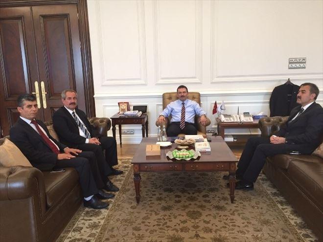 Başkan Gürsoy'dan İçişleri Bakanı Altınok'a Ziyaret