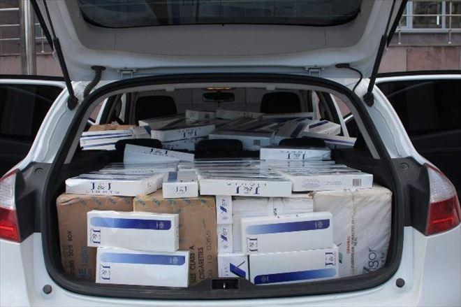 Yozgat Emniyeti 96 Bin Paket Kaçak Sigara Yakaladı