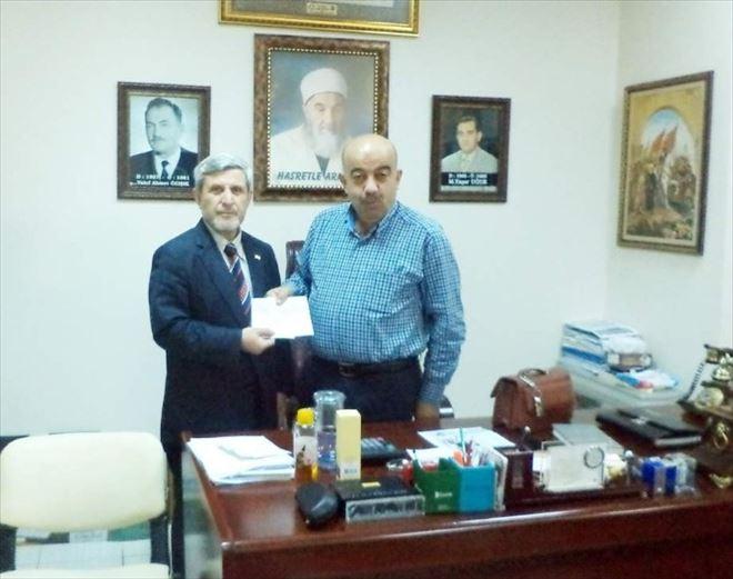 Yozgat Gimat'tan Kızılay'a Kurban Bağışı