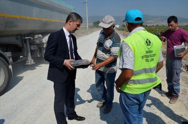 Başkan Şirin'den Urganlı Çıkarması