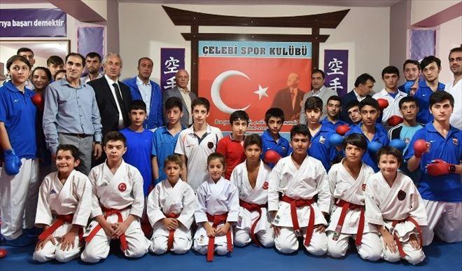 Başkan Sekmen'den, Karate'nin Oxfordu'na Övgü