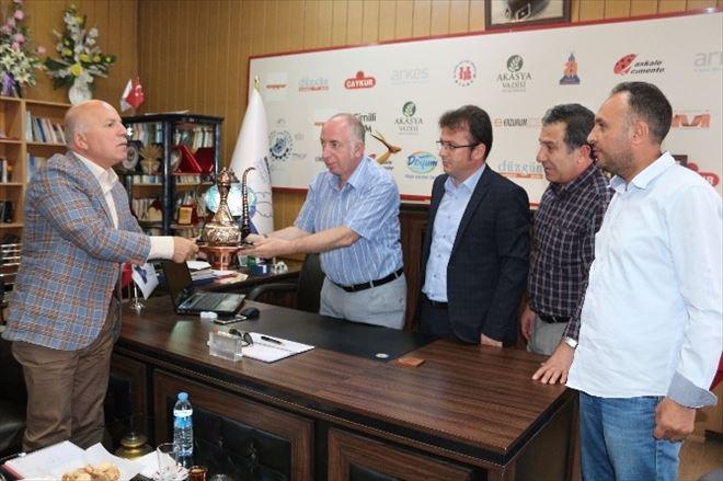 Başkan Sekmen'den Egc'ye Ziyaret