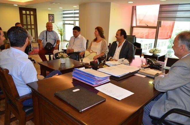 Kardeş Belediyelerden Başkan Bakıcı'ya Ziyaret
