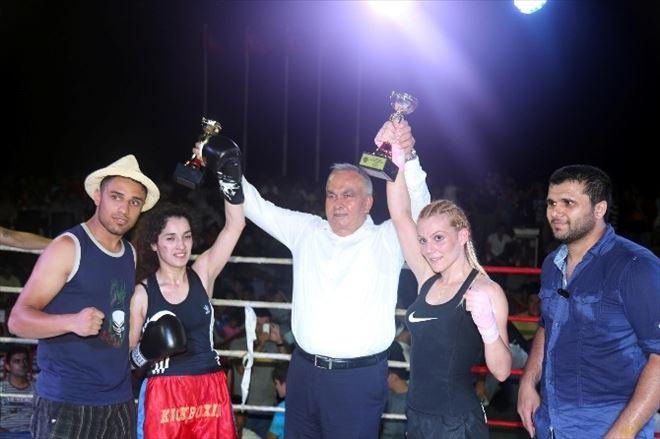 Erdemli'de Şehitler Anısına Kıckboks Şampiyonası