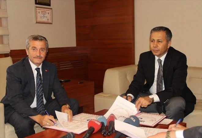 Valilik, Milli Eğitim Ve Şahinbey Belediyesi Arasında Eğitim Protokolü İmzalandı
