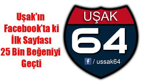UŞAK 64 REKORA KOŞUYOR
