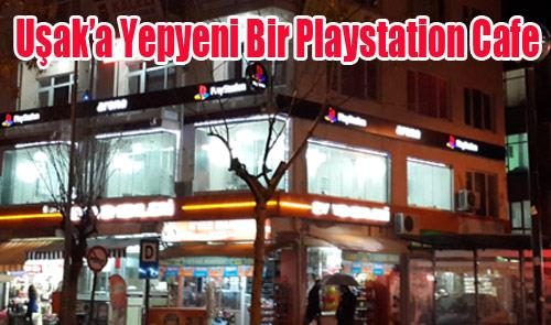 Uşak Yepyeni Bir Playstation Cafe`ye Kavuştu
