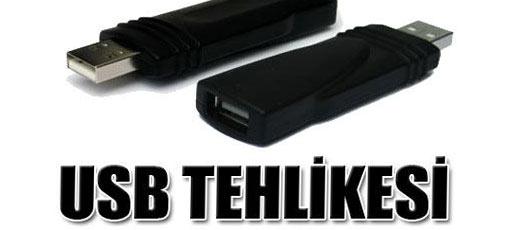 İnternette USB tehlikesi