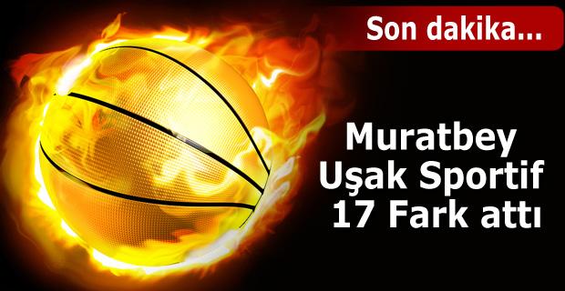 Muratbey Uşak Sportif: 90 - İstanbul Büyükşehir Belediyespor: 73