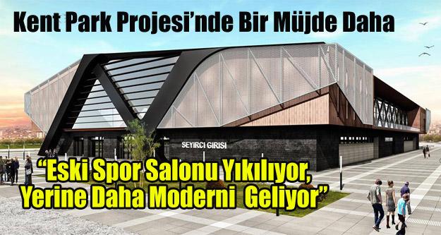 """'Eski Spor Salonu Yıkılıyor, Yerine Daha Moderni  Geliyor"""""""