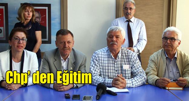 CHP'DEN EĞİTİM