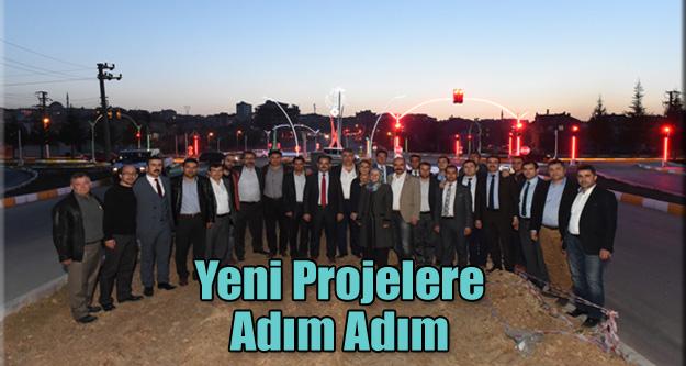 YENİ PROJELERE ADIM ADIM