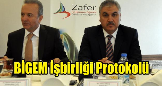 Zafer Kalkınma'da BİGEM işbirliği protokolü