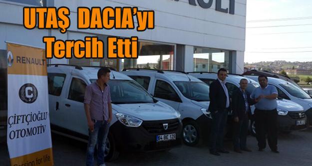 UTAŞ DACIA'YI TERCİH ETTİ