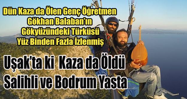 KAZA'DA ÖLEN GÖKHAN ÖĞRETMEN'İN HAYDAR HAYDAR TÜRKÜSÜ