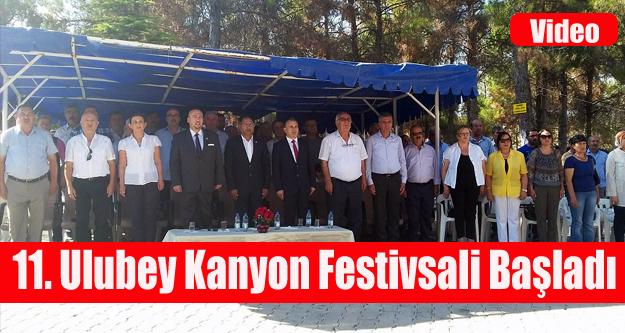 ULUBEY KANYON FESTİVALİ BAŞLADI