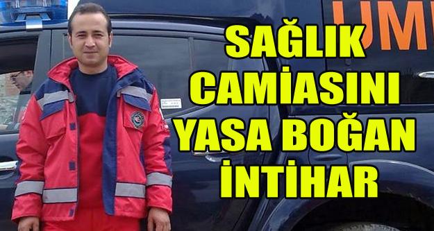 UŞAK#039;TA ERKEK HEMŞİRE İNTİHAR ETTİ!