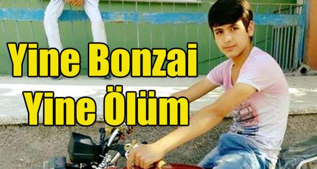 Uşak'ta 15 yaşındaki Çocuk Bonzai'den Öldü