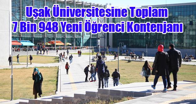 Uşak Üniversitesine...