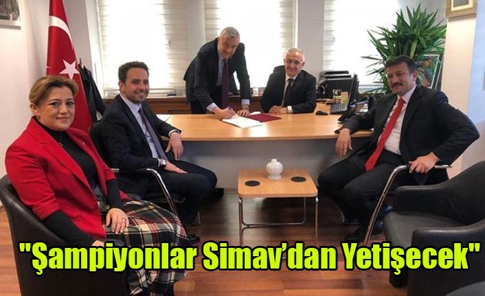 """Başkan Biçer: """"Şampiyonlar Simav'dan yetişecek"""""""