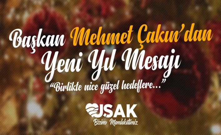 Başkan Çakın'dan Yeni Yıl Mesajı