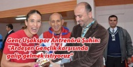 GENÇ UŞAKSPOR#039;UN HEDEFİ GALİBİYET