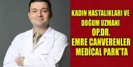 KADIN HASTALIKLARI VE DOĞUM UZMANI OP.DR.EMRE CANVERENLER MEDİCAL PARK#039;TA