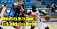 Muratbey Uşak Sportif: 95 - Türk Telekom: 79