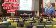 UŞAK OSB#039;DE ÇİMENTOCULAR DÖNEMİ RESMEN BAŞLADI
