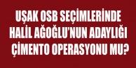 UŞAK OSB DE UŞAK#039;IN KADERİNİ ETKİLEYECEK SEÇİM