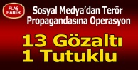 UŞAK#039;TA SOSYAL MEDYADAN TERÖR PROPAGANDASINA OPERASYON