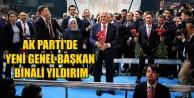 AK PARTİ#039;DE YENİ GENEL BAŞKAN BİNALİ YILDIRIM