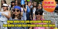 quot;Schoolovisionquot;da Türkiye#039;yi Temsil Edecekler