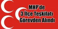 UŞAK MHP#039;DE 3 İLÇE TEŞKİLATI GÖREVDEN ALINDI