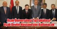 Uşak Üniversitesi Tıp Fakültesi Protokolü İmzalandı