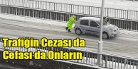 TRAFİĞİN CEZASINDA DA CEFASINDA DA ONLAR VAR!