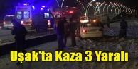 UŞAK#039;TA KAZA 2 Sİ TEKSTİLCİ 3 YARALI