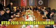 UTSO 2016 YILINI DEĞERLENDİRDİ