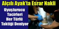 ALÇILI AYAK#039;TA ESRAR NAKLİ POLİSE TAKILDI