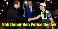VALİ SALİM DEMİR#039;DEN HUZUR OPERASYONLARINA DESTEK