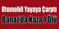 BANAZ#039;DA TRAFİK KAZASI 1 ÖLÜ