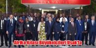 Afrika Kıtası Büyükelçileri Uşak#039;ta