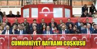 CUMHURİYET BAYRAMI COŞKUYLA KUTLANDI