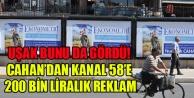 UŞAK BELEDİYESİNDEN KANAL 58#039;E PARA POMPALAMAYA DEVAM
